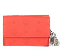 Portemonnaie Klara Leather Three Fold Wallet Hot Coral