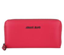 Kleinleder - Castiglia Wallet Geranio - in pink - Kleinleder für Damen