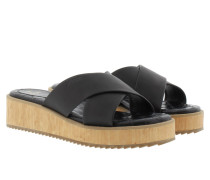 Sandalen - Tabea Low Wedge Black