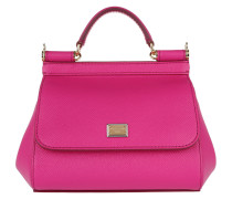 Sicily Tote Mini Dauphine Rosa Shocking