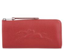 Kleinleder - Le Pliage Wallet Large Leather Vermillon