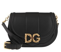 Umhängetasche DG Amore Messenger Bag Black
