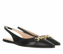 Pumps & High Heels Low Slingback Strap Leather