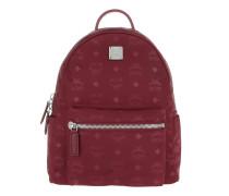 Dieter Monogram Small Backpack Nylon Reddish Light Brown Rucksack