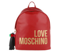 Backpack Tassel Rosso Rucksack