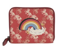 Portemonnaie Canvas Rainbow Small Zop Wallet