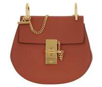 Drew Mini Saddle Bag Terracotta Red Umhängetasche