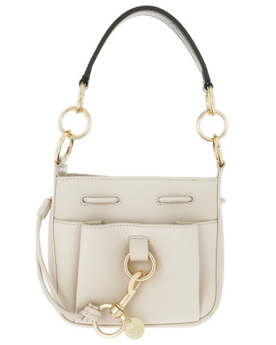 Beuteltasche Tony Small Shoulder Bag Cement Beige beige