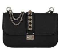 Rockstud Lock Umhängetasche Bag Medium Black
