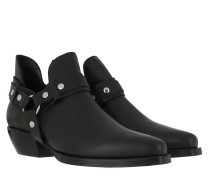 Boots Holly Hale Ankle Boot Black Leather