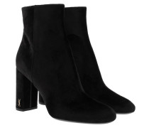 Loulou 95 Ankle Boots Black Schuhe