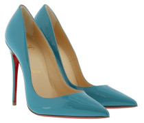 So Kate 120 Patent Pumps Light Blue