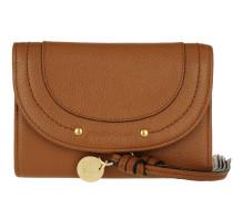 Compact Wallet Caramel Portemonnaie