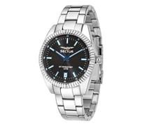 Uhren 240 41Mm 3H Black Dial Bracelet SS Case