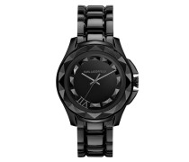 Karl 7 Unisex Watch Brushed Black Armbanduhr