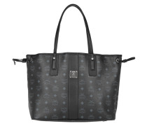 Shopper Liz Shopping Bag Medium Black Umhängetasche grau