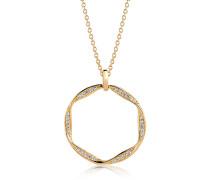 Halskette Cetara Grande Pendant 90cm Gold