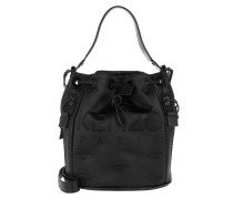 Kanvas Bucket Bag Black Beuteltasche