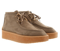 High Clipper Ankle Boots Taupe Schuhe