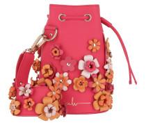 Kasper Flower Bucket Bag Fuchsia Beuteltasche