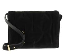 Satchel Bag Handbag Suede Leather