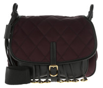 Corsaire Bag Calfskin/Nylon Bordeaux/Nero rot