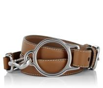 Kleinleder - Leather Stitch Belt Cuoio