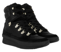Brendty Boots Contrast Laces Black Schuhe