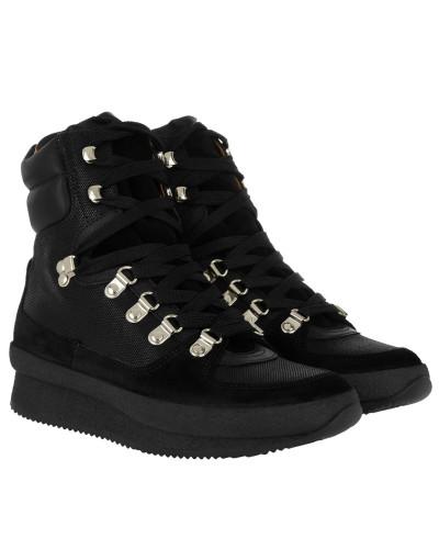 Isabel Marant Damen Brendty Boots Contrast Laces Black Schuhe