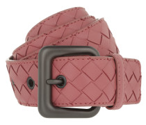 Intrecciato Nappa Belt Dusty Rose Gürtel pink
