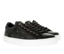 W Lace Up Sneakerss Black