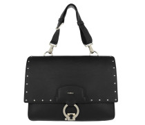 Scoop M Shoulder Bag Onyx Satchel