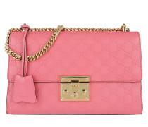 Padlock GG Supreme Shoulder Bag Pink Umhängetasche