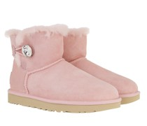 Boots W Mini Bailey Button Bling Pink Cloud