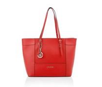 Guess Tasche - Delaney Med Classic Tote Red - in rot aus Kunstleder - Umhängetasche für Damen