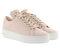 Mindy Lace Up Soft Pink Sneakers