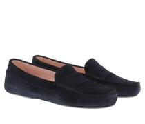 Schuhe Josephine Mocasin Microtina Navy