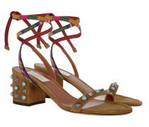 Summer Rockstud Rolling Sandal Bright Camel Sandalen