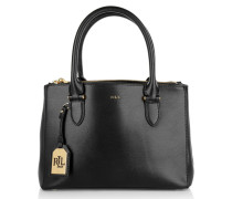 Tasche - Newbury Double Zipper Shopper Black Gold