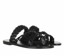 Sandalen & Sandaletten Neil Slide Sandals Braided Leather