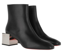 Boots Tres Fiak Block Heels Black/Silver