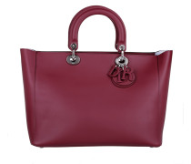 Tasche - Lady Dior Large Tote Bordeaux