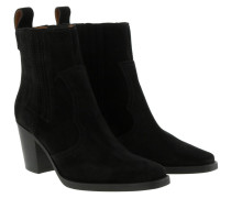 Boots Western Boot Suede Black