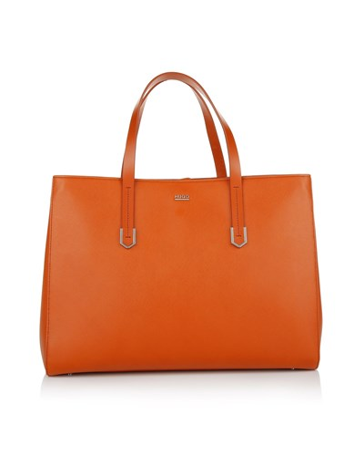 hugo boss damen hugo tasche norah shopper bright orange. Black Bedroom Furniture Sets. Home Design Ideas