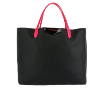 Antigona Shopping Bag Large Noir/Fushia Umhängetasche