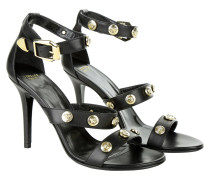 Sandalen - Signature Medusa High Heel Sandal Black/Light Gold