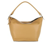 Hobo Bag Borsa Pelle Vitello Camel