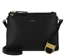Lynn Double Zipper Umhängetasche Bag Black