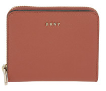 Bryant Park Small Carryall Saffiano Wallet Terracotta