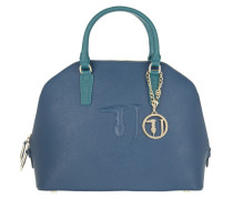 Tasche - Linea Ischia Ecoleather Dome Blue Green